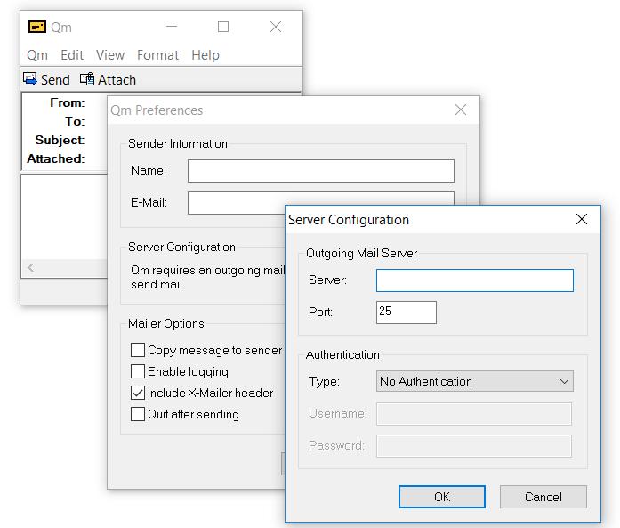 Легкий мессенджер Qm для старых компьютеров