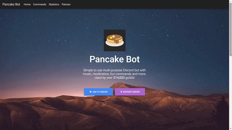 Лучшие Боты Discord Pancake