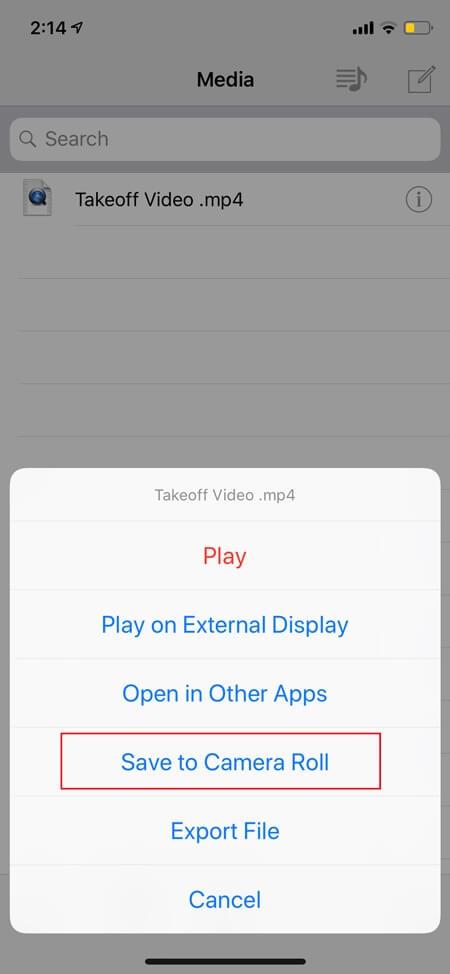 Скачать видео с Facebook Сохранить Camera Roll