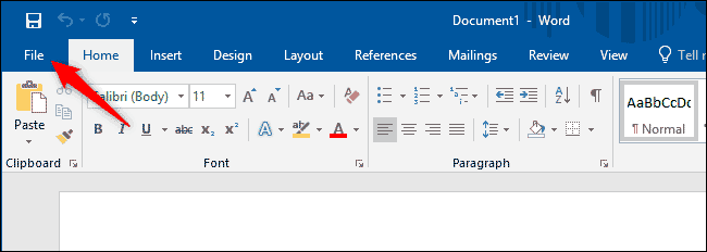 включение темного режима в Microsoft Office