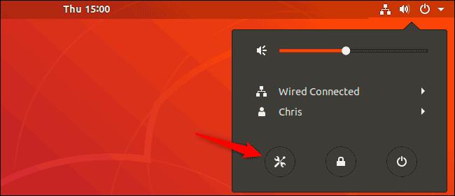 Посмотреть версию Ubuntu в оболочке GNOME