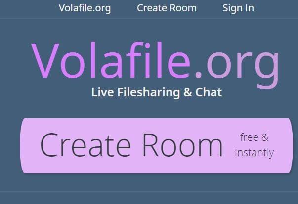 Volafile Создать комнату