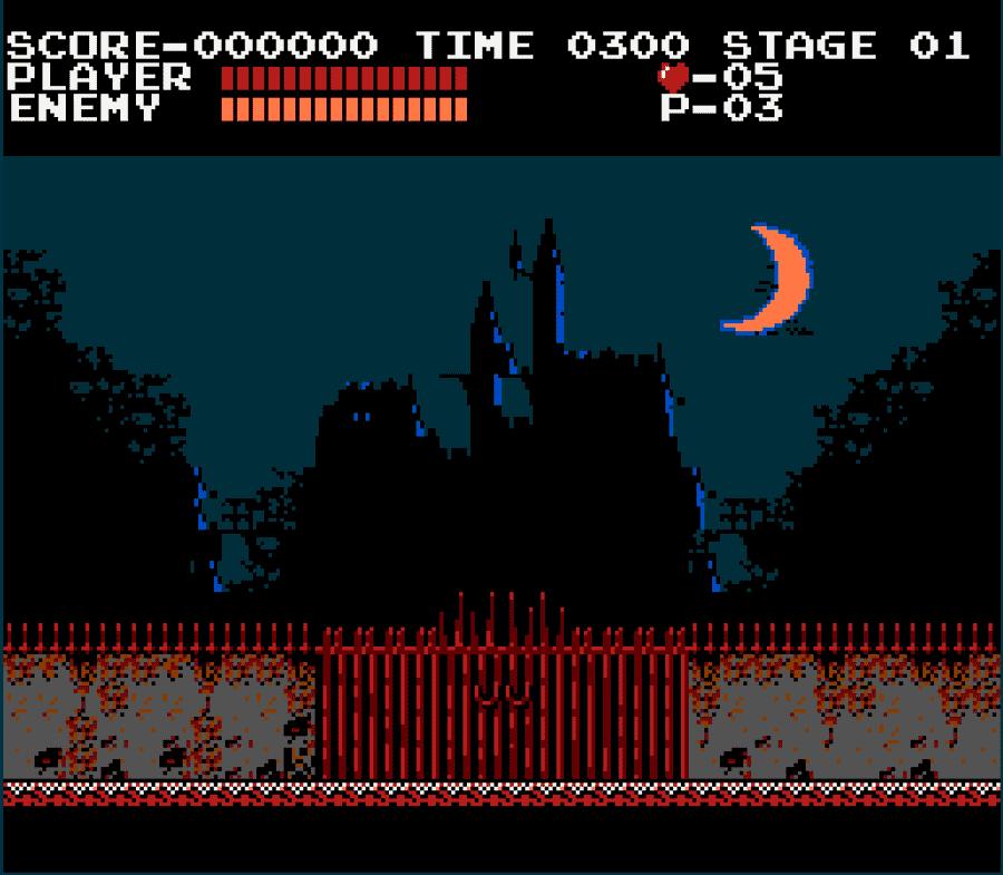 Скриншот из Castlevania