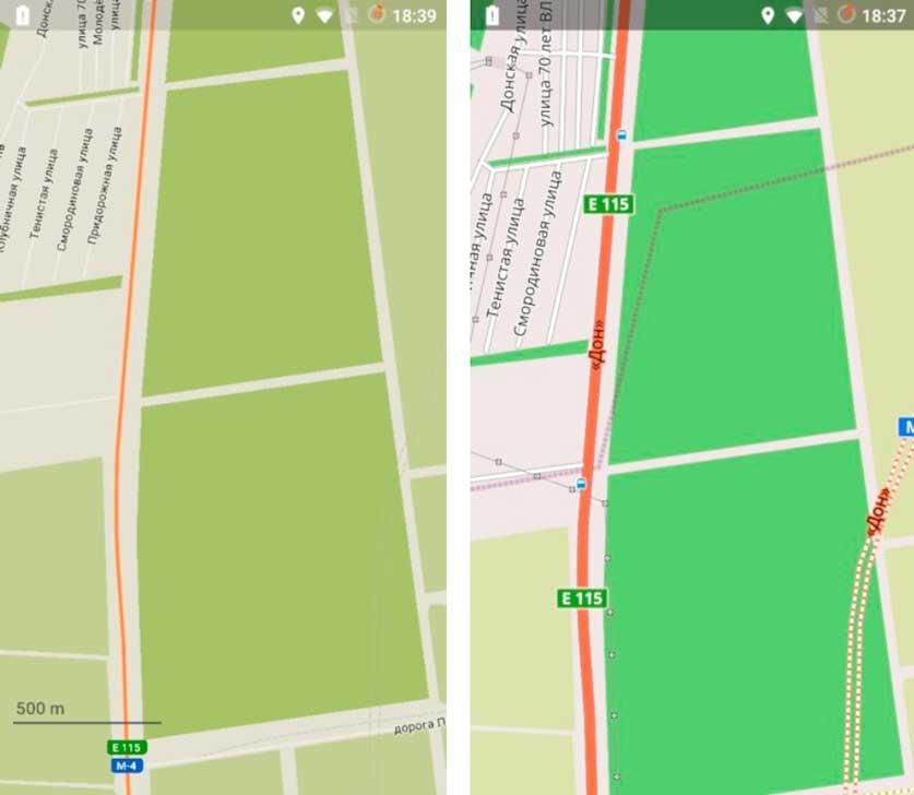 Оптимизация Андроид - Maps Me и OsmAnd