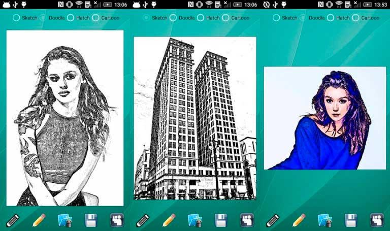 приложение для создания рисунка из фото