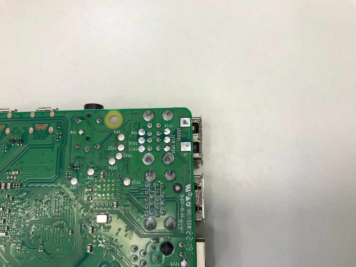 Raspberry Pi 4 задняя часть