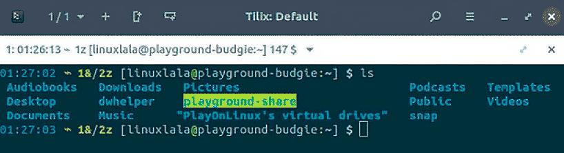 изменить цвет терминала Linux