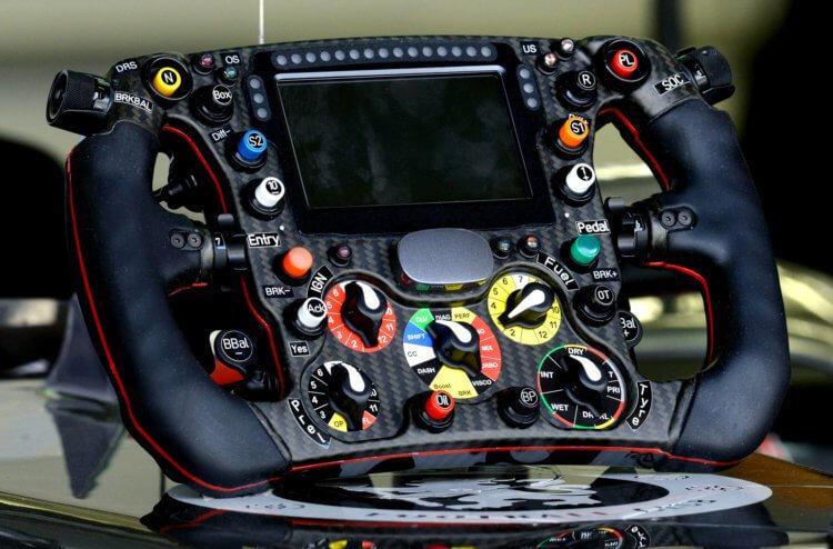 основы цифровой схемотехники руль болида «Формулы-1»