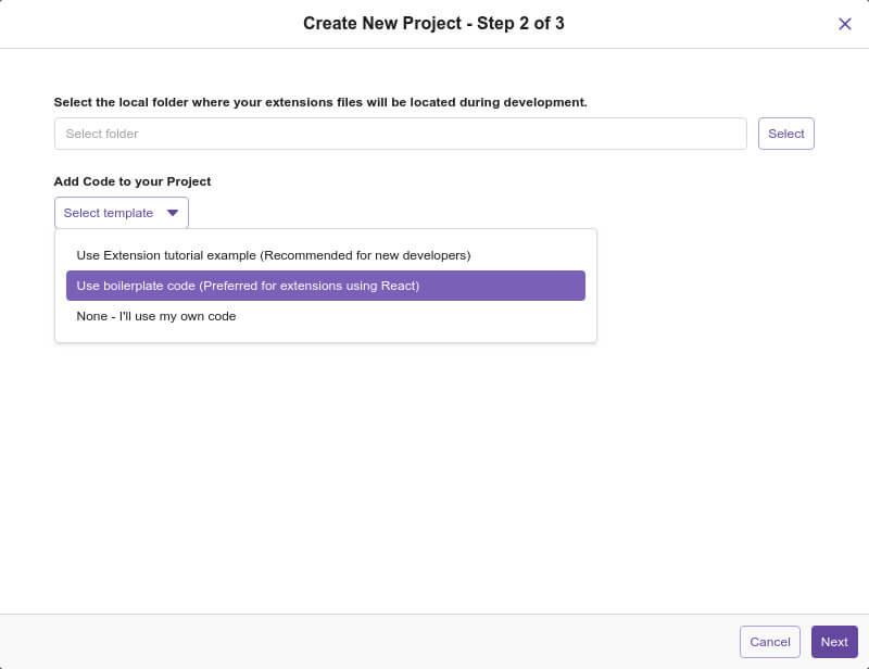 Создание расширения Twitch — шаг второй