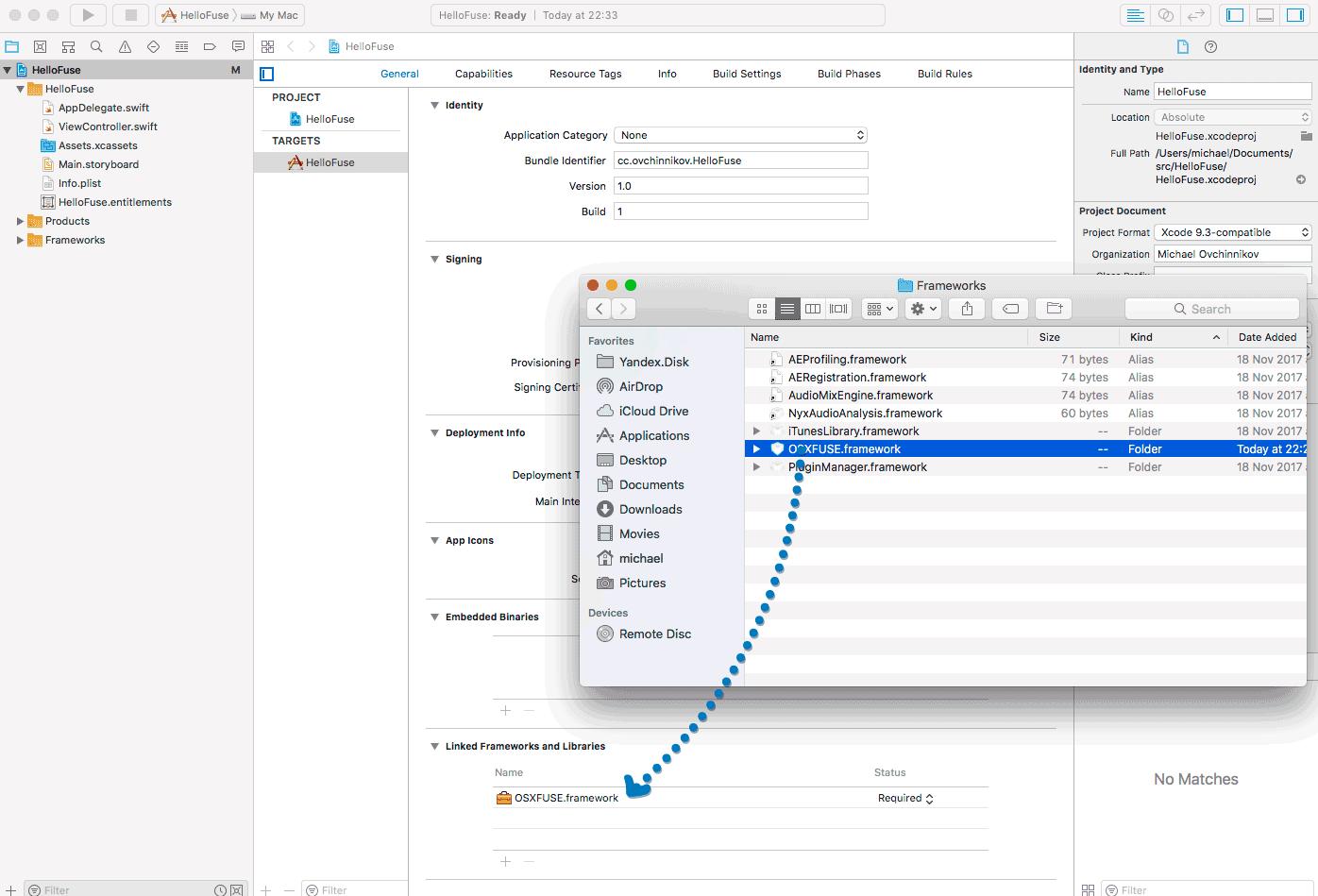 Создание файловой системы на FUSE и Swift
