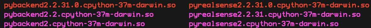 Так выглядят файлы модуля для Python 3.7