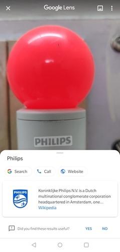Распознавание объектов Google Lens