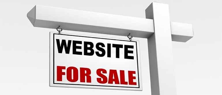 где можно продать сайт