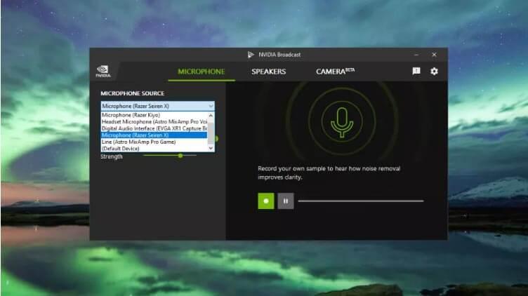 Загрузка и установка Nvidia Broadcast