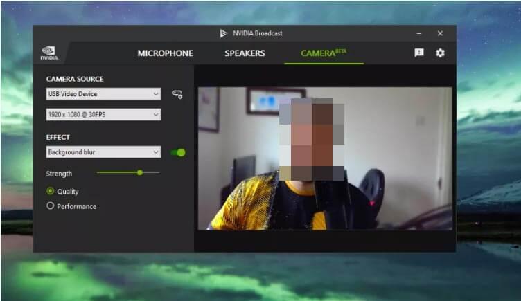 Удаление фонового шума в Nvidia Broadcast