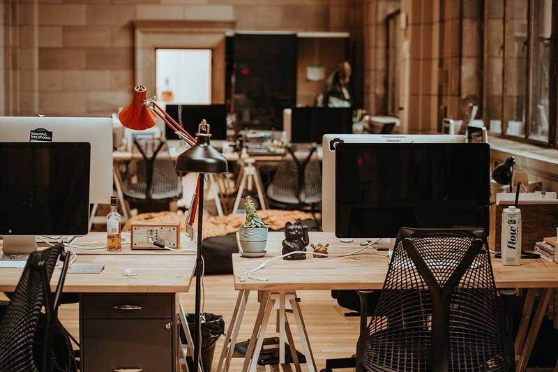 Скачать виртуальной фон Zoom архив «Офис»