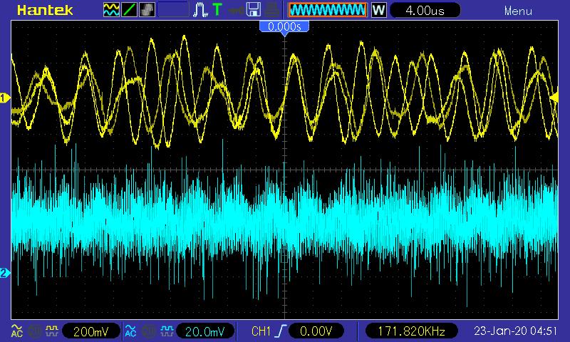 Частотная модуляция сигнала ПЧ