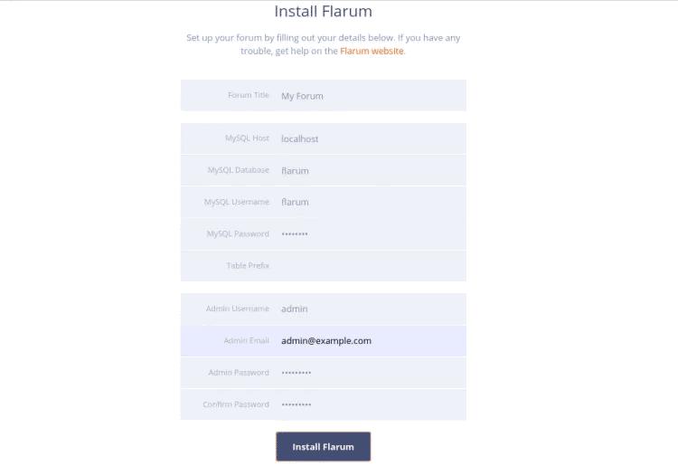 Как установить форум Flarum на Ubuntu