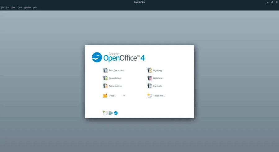 установка openoffice linux ubuntu debian