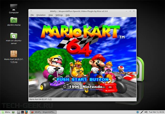 Эмулятор игровой консоли M64Py