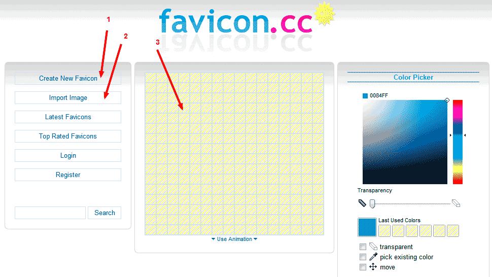 создание фавикон установка на сайт