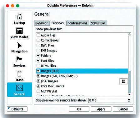 Сжатие изображений в Linux FLIF Dolphin
