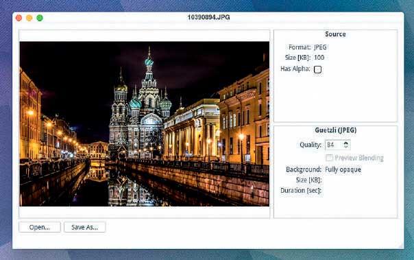 Оптимизация изображений в Linux с Guetzli