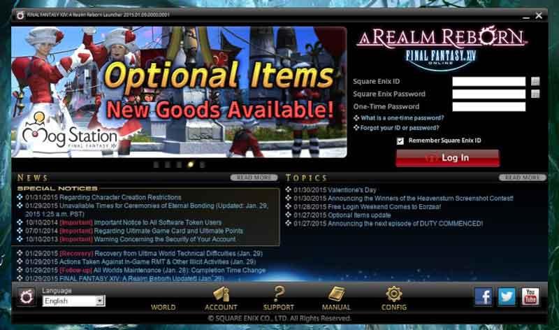 Final Fantasy Online Linux