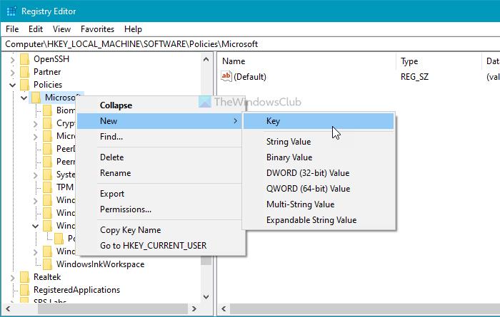 Как запретить пользователям добавлять новый профиль в Microsoft Edge