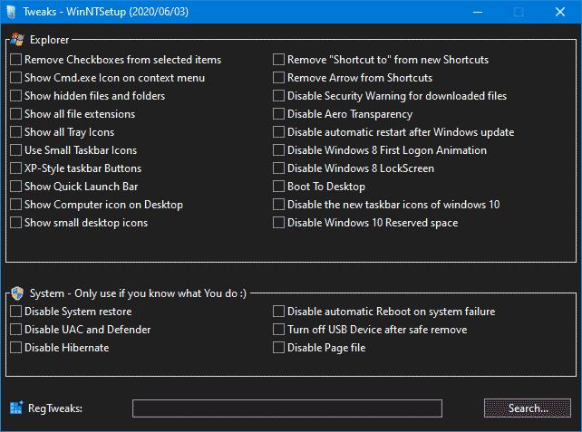 Подготовка к удаленной установке Windows