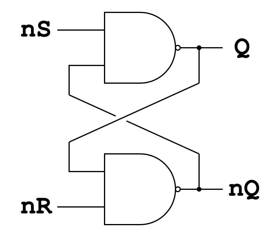 Логические элементы в компьютере rstrig