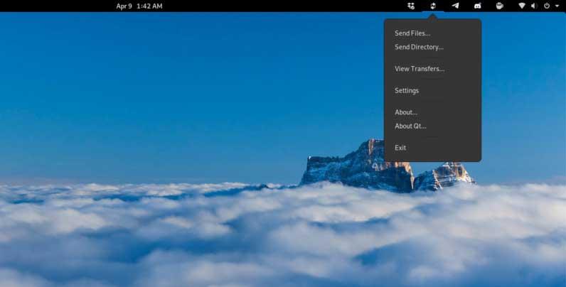 Перенос каталогов пользователей Ubuntu. Отправить каталог NitroShare