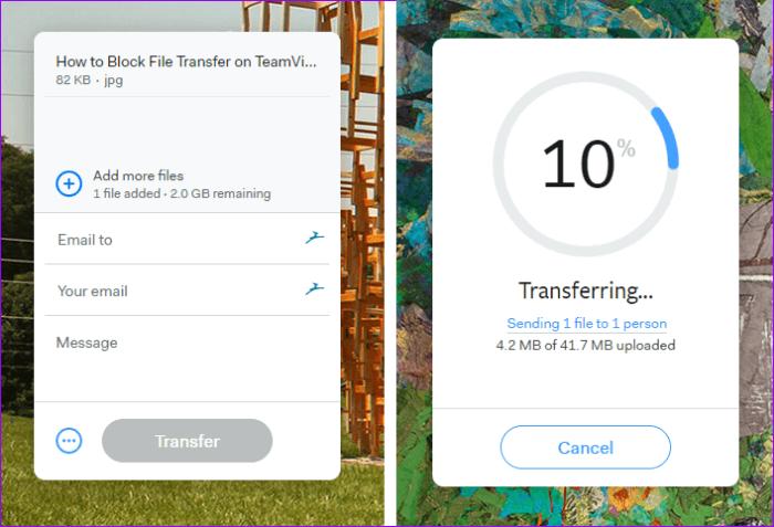 отправка большого файла в Outlook