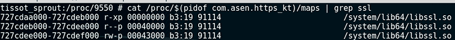 Поиск следов OpenSSL в приложениях для Android