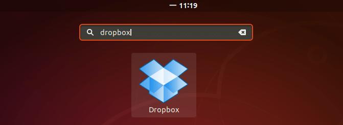 Запуск Dropbox Ubuntu