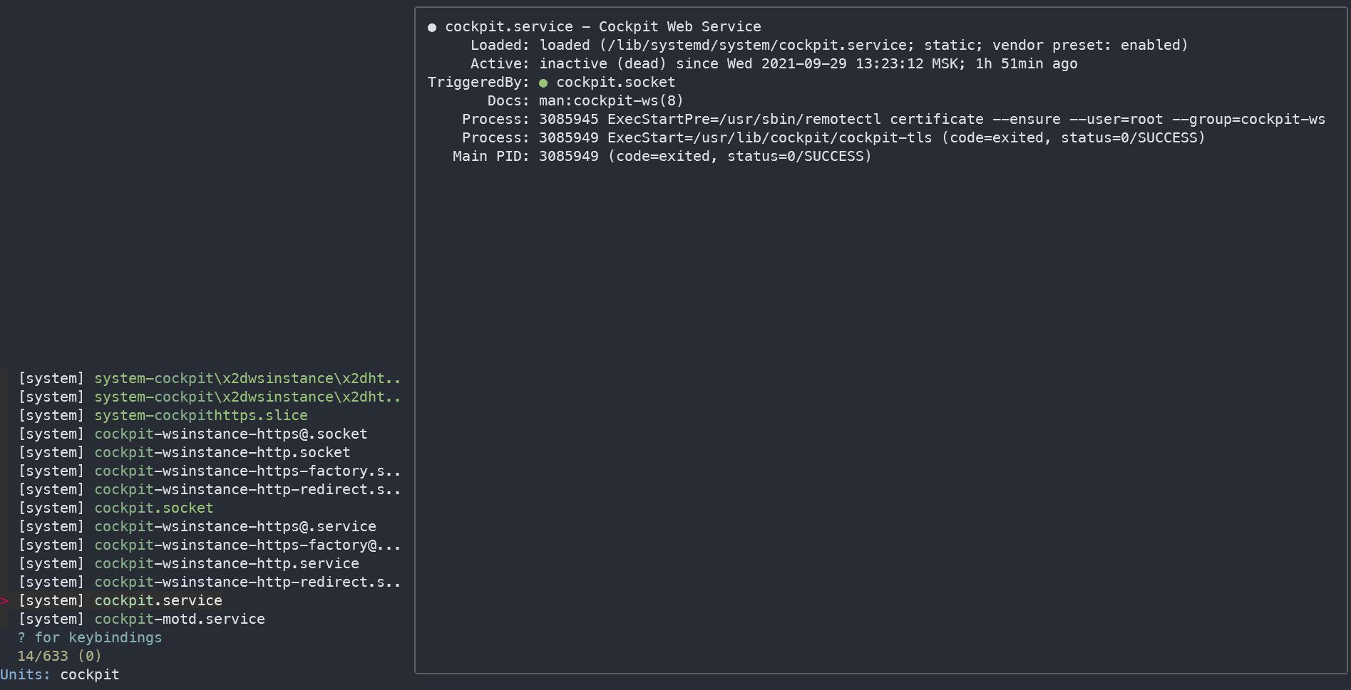 Полезные утилиты консоли Linux. sysz