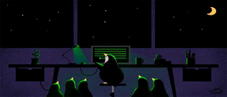 tail команда linux