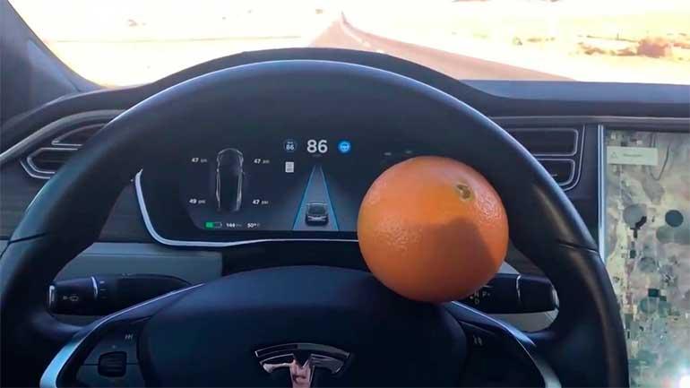 тесла и апельсин