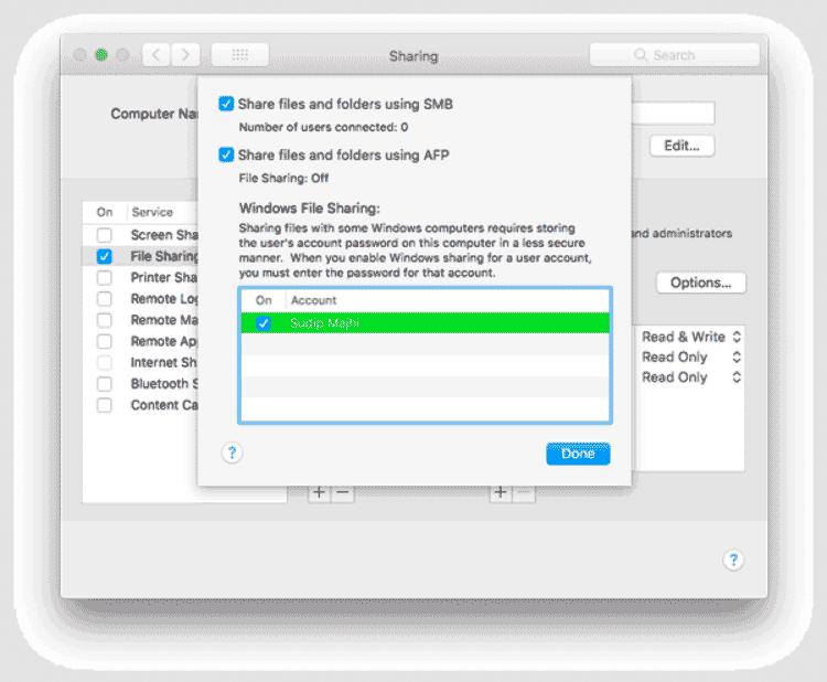 Как перенести файлы с MAC на Windows