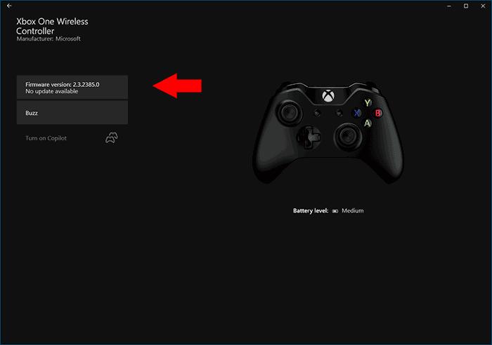 Обновление прошивки контроллера Xbox из приложения Аксессуары Xbox