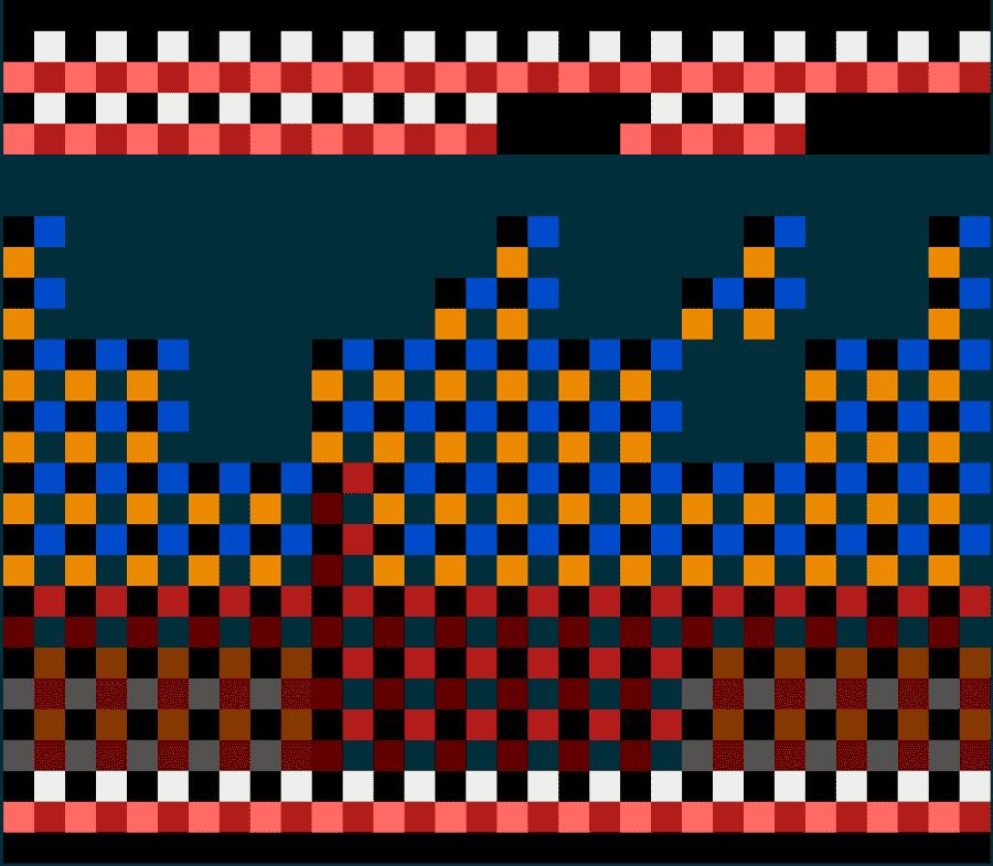 Скриншот с палитрами