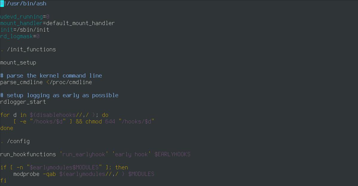 Загрузка Linux